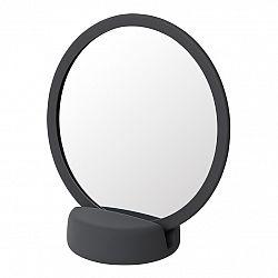 Blomus Kozmetické zrkadlo stolné SONO sivočierne