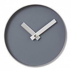 Blomus Nástenné hodiny RIM malé sivé