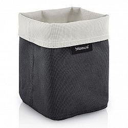Blomus Obojstranný košík na kozmetické potreby malý pieskový/antracitový ARA