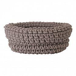 Blomus Pletený bavlnený košík COBO taupe