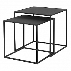 Blomus Súprava 2 ks konferenčných stolíkov FERA čierna