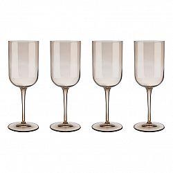 Blomus Súprava 4 pohárov na červené víno FUUM zlatisté sklo