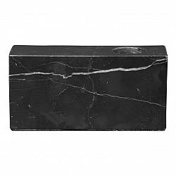 Blomus Svietnik mramorový BLOC čierny