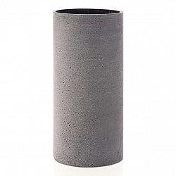 Blomus Váza Coluna veľkosť L tmavosivá