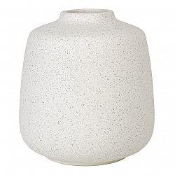 Blomus Váza RUDEA biela Ø 16,5 cm