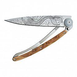 deejo Vreckový nôž tattoo 37 g juniper Fish