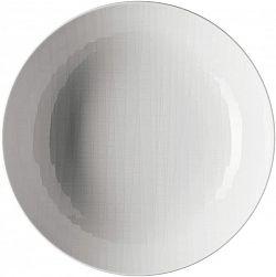 Hlboký tanier Mesh Rosenthal biely 21 cm