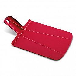 Joseph Joseph Skladacia doska na krájanie červená Chop2Pot™ Small