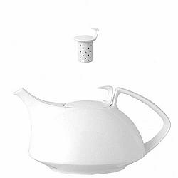 Kanvica na čaj so sitkom Tac 3 Rosenthal biela