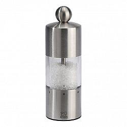 Peugeot Mlynček na soľ COMMERCY brúsená nehrdzavejúca oceľ s plastom 15 cm
