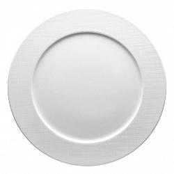 Plytký tanier Mesh Rosenthal biely 32 cm