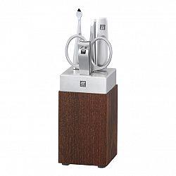ZWILLING Manikúra so stojanom drevo/porcelán 5-dielna TWINOX® Spa